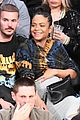 pregnant christina milian boyfriend matt pokora have date night at lakers game 01