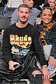 pregnant christina milian boyfriend matt pokora have date night at lakers game 02