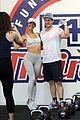 mark wahlberg works out with fans f45 gym see photos 06