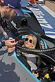 ellie goulding gets in the drivers seat at formula e track 10