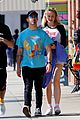 joe jonas gets handsy with sophie turner on lunch outing 24