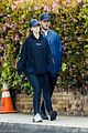 chris pratt katherine schwarzenegger stroll around neighborhood 28