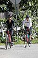 dennis quaid biking with fiancee laura savoie 01