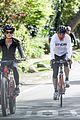 dennis quaid biking with fiancee laura savoie 05