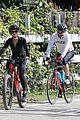 dennis quaid biking with fiancee laura savoie 08