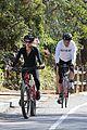 dennis quaid biking with fiancee laura savoie 16