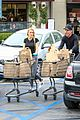 dennis quaid laura savoie stock up on groceries 18