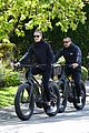 robin wright clement giraudet bike ride with dog 01