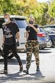 miley cyrus cody simpson wear masks on their coffee date 12