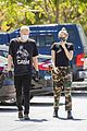 miley cyrus cody simpson wear masks on their coffee date 32
