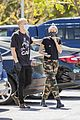 miley cyrus cody simpson wear masks on their coffee date 36
