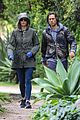 gwyneth paltrow brad falchuk walk rainy day 04