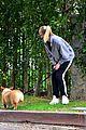 joe jonas sophie turner monday dog walk 36