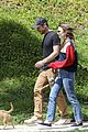 Photo 8 of Lily Collins & Boyfriend Charlie McDowell Take Their Pup for a Walk Amid Quarantine