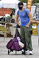 joel mchale buff biceps at farmers market 27