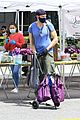 Photo 76 of Joel McHale Puts Buff Biceps on Display at the Farmer's Market