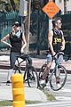 chris pine annabelle wallis bike ride 44