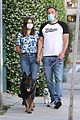 ben affleck masks walking ana de armas 08