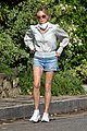 melanie griffith rocks daisy dukes for afternoon walk 01