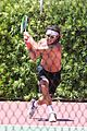gavin rossdale goes shirtless playing tennis 11