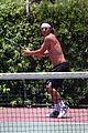 gavin rossdale goes shirtless playing tennis 19