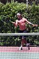 gavin rossdale goes shirtless playing tennis 42