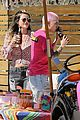 ruby rose bella thorne attend a drive by birthday party 02
