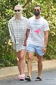 sophie turner wears oversized shirt on walk with joe jonas 07