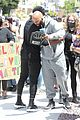 common runs into chris paul at la protests 04