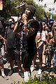 michael b jordan speech at black lives matter protest 05