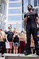 michael b jordan speech at black lives matter protest 08