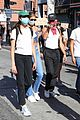 cole sprouse kaia gerber black lives matter protest 05