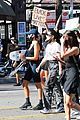 cole sprouse kaia gerber black lives matter protest 44