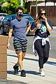 darren criss wife mia hold hands coffee run 05