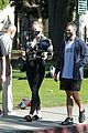 pregnant sophie turner at park with joe jonas family 10