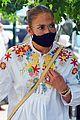 jennifer lopez alex rodriguez dinner out mask promotion 02