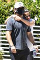 lea michele cozies up to zandy reich on morning walk 04