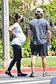 lea michele cozies up to zandy reich on morning walk 20