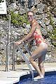 caroline wozniacki at the pool with david lee 02