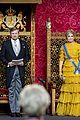 queen maxima gloves dress match prince day netherlands 04