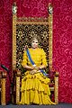 queen maxima gloves dress match prince day netherlands 09