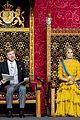 queen maxima gloves dress match prince day netherlands 12