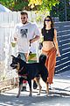 emily ratajkowski shows off bare baby bump hike with hubby 44