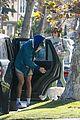 jacob elordi short shorts workout with kaia gerber 12