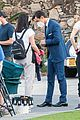 harry styles looks dapper in two suits on dont worry darling set in palm springs 31