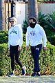 gwyneth paltrow brad falchuk neighborhood walk 13