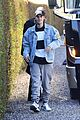 Photo 64 of Justin Bieber Plays Parking Assistant to Help Driver Park His Tour Bus