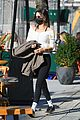 gigi hadid chills out on stoop sister bella out nyc 05