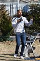 michael b jordan chante adams kiss on jordan set 08