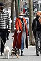 madelaine petsch new beau miles chamley watson go on dog walk 09